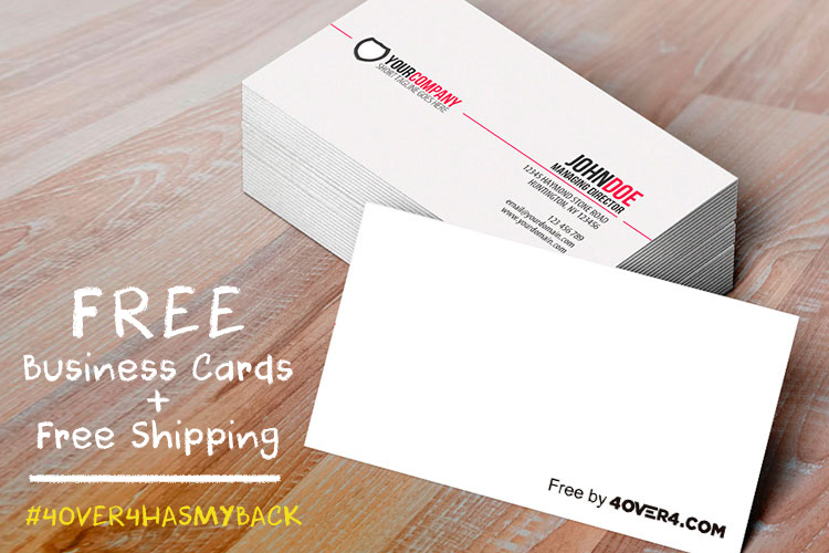 Free Business Cards Shipping