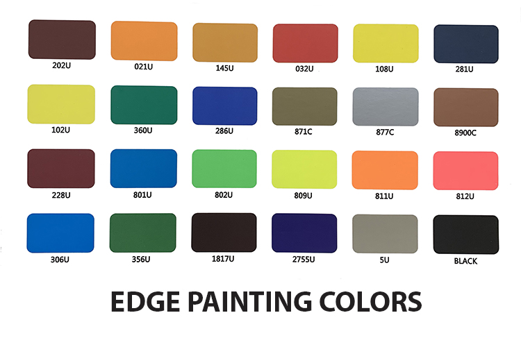 Edge Painting Colors