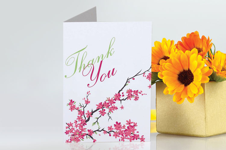Custom greeting cards personalized greeting cards 4over4 greeting card printing for business and more m4hsunfo