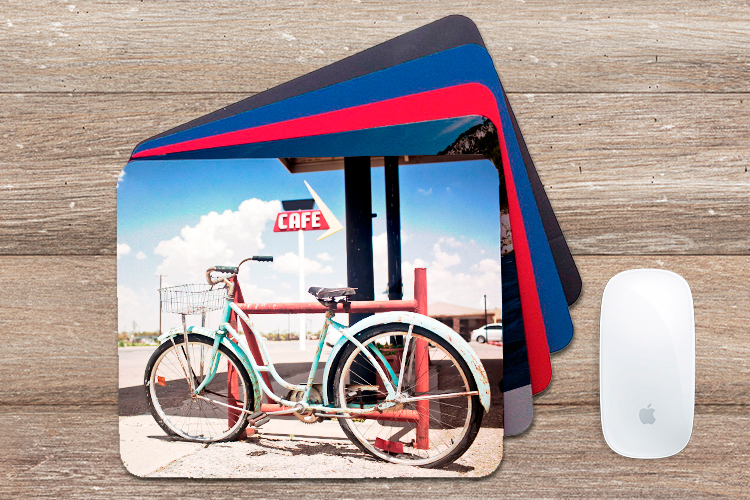 print custom photo mouse pads online 4over4 com