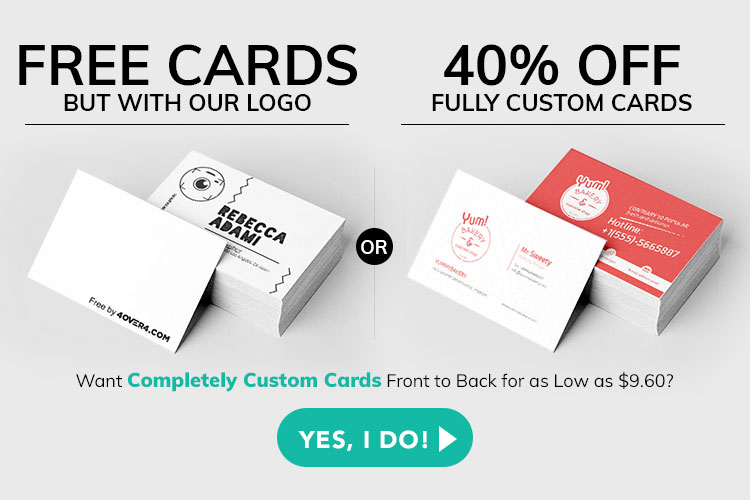 Free Business Cards Amp Free Shipping Yes Totally Free