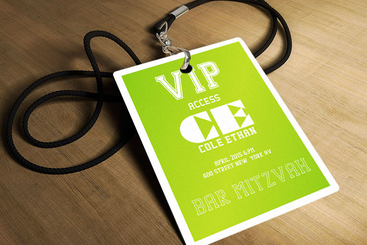 Custom Event And Conference Badge Printing 4over4 Com