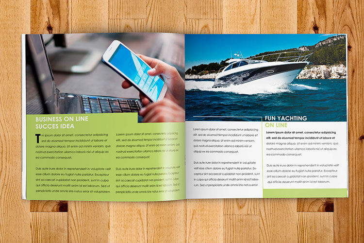 cheap custom booklet printing online in full color 4over4 com