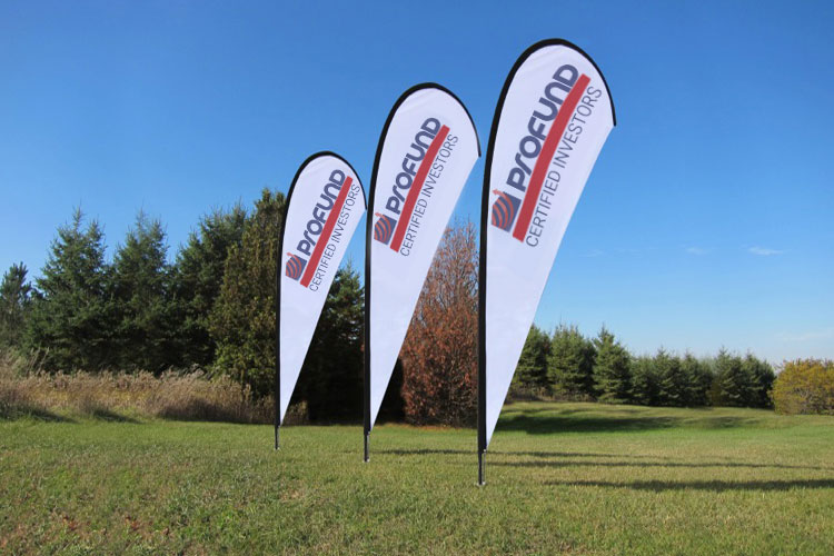 Custom Teardrop Flags Advertising 4over4 Com