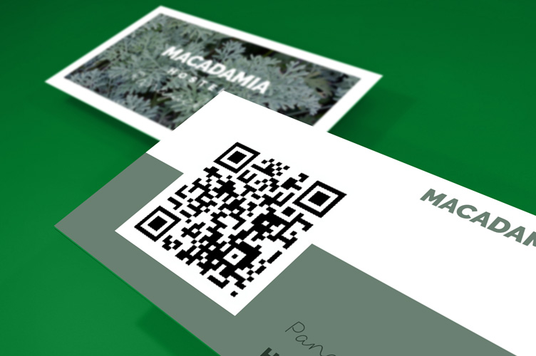 Print business cards with qr code 4over4 qr business cards colourmoves