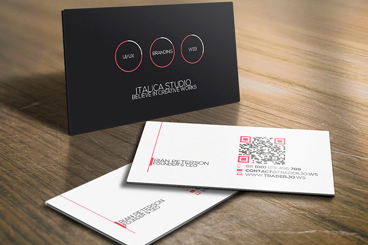 Rigid plastic business cards 4over4 reheart Images