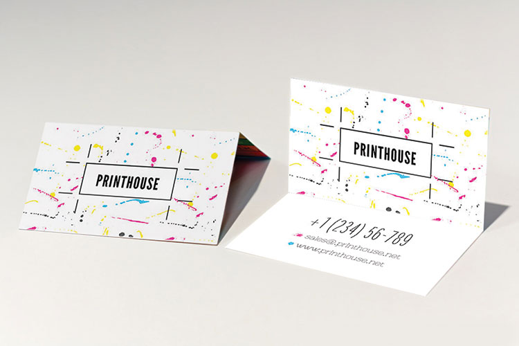 Print foldover business cards online 4over4 foldover business cards more space to make a unique impression colourmoves