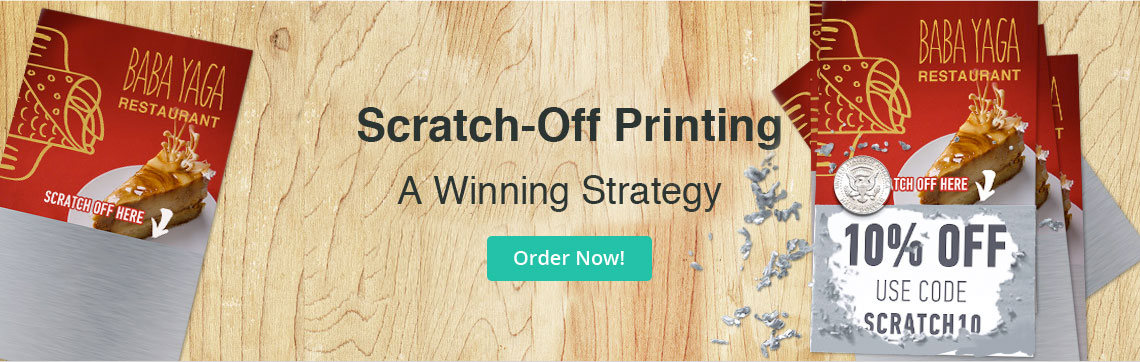 Scratch Off Printing: Custom Scratch Off Tickets & Cards